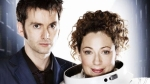 David Tennannt Alex Kingston Doctor Who Silence Library